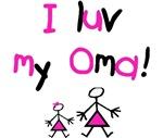 I luv my Oma (pink)