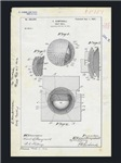Golf Ball Patent Drawing