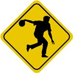 Bowling Crossing Sign