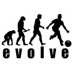 Evolve Bowling Man