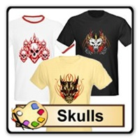 Skull t-shirts and gifts