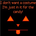 I don't want a costume...