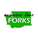 Vampires love Forks
