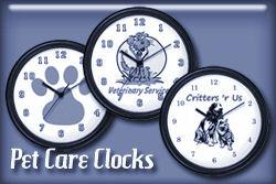 Pet Care Wall Clocks