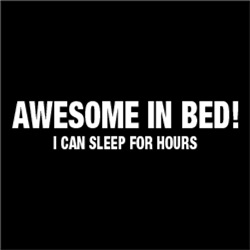 Awesome In Bed! I Can Sleep For Hours