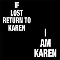 FUNNY KAREN If Lost Return To Couple Man Woman