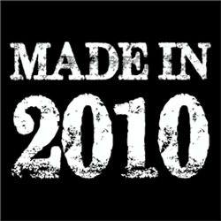 Made In 2010 BIRTHDAY Gift Year of Birth