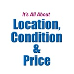Location, Condition and Price