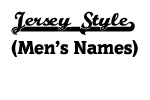 Black Jersey Men's Names