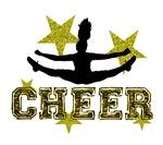 Cheerleader toe touch