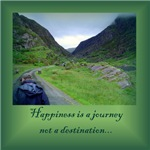 HAPPINESS IS A JOURNEY...