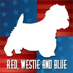 Red, Westie and Blue