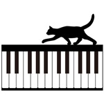 Cat and Piano v.1