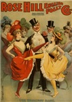 Burlesque Theater Victorian Actresses WWI Posters
