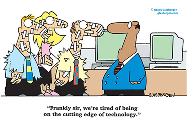 Cutting Edge of Technology!
