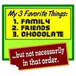 FFavorite Things/Chocolate