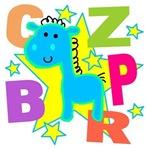 Kids Blue Horse