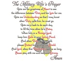 Military Wife Prayer