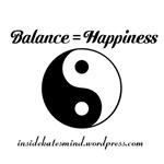 Balance = Happiness