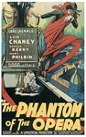 The Phantom of the Opera Poster 1925