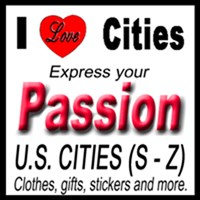 I Love U.S. Cities (S - Z)