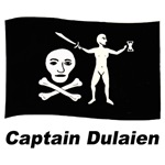 Pirate Flag - Captain Dulaien