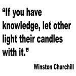 Churchill Knowledge Quote