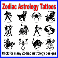 Zodiac Astrology Tattoos