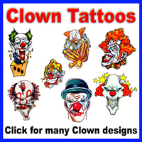 Clown Tattoos