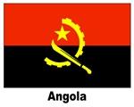 Angola Angolan Flag