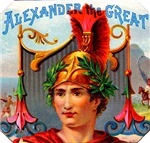 Alexander the Great Cigar Label