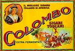 Colombo Cigar Label
