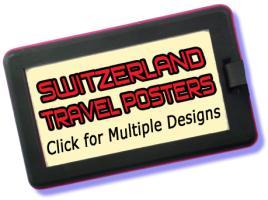 Switzerland Travel Posters