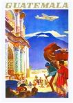 Guatemala Travel Poster 2