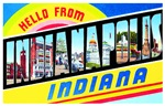 Indianapolis Indiana Greetings