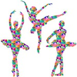 Geometric Pattern Ballerinas
