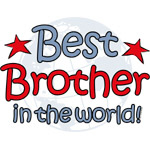 Best Brother Globe