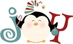 Christmas Penguin Joy