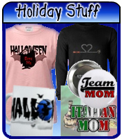 Holiday & Occasion t-shirts & homewares