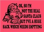 Rude, funny Santa Claus cards