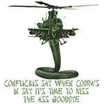 Marines T-Shirts-Confucius and Cobra Design