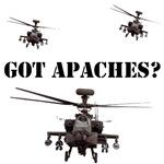 Apache AH64D T-Shirts