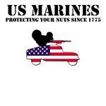 USMC T-Shirts-1775 American pride design