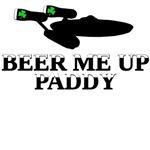 Beam me up Scotty parody St Patrick's Shirt