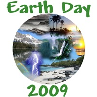 Earth Day 2009 shirt for Earth Day