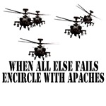 Apache Helicopter themed Military Shirts