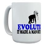 Evolution Atheism Mugs