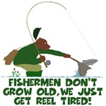 Funny T Shirts fishing theme's a Grizzly fishing