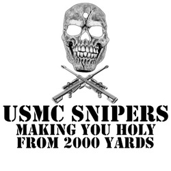 USMC sniper shirts for USMC snipers
