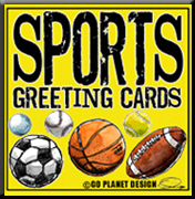Sports Greeting Cards